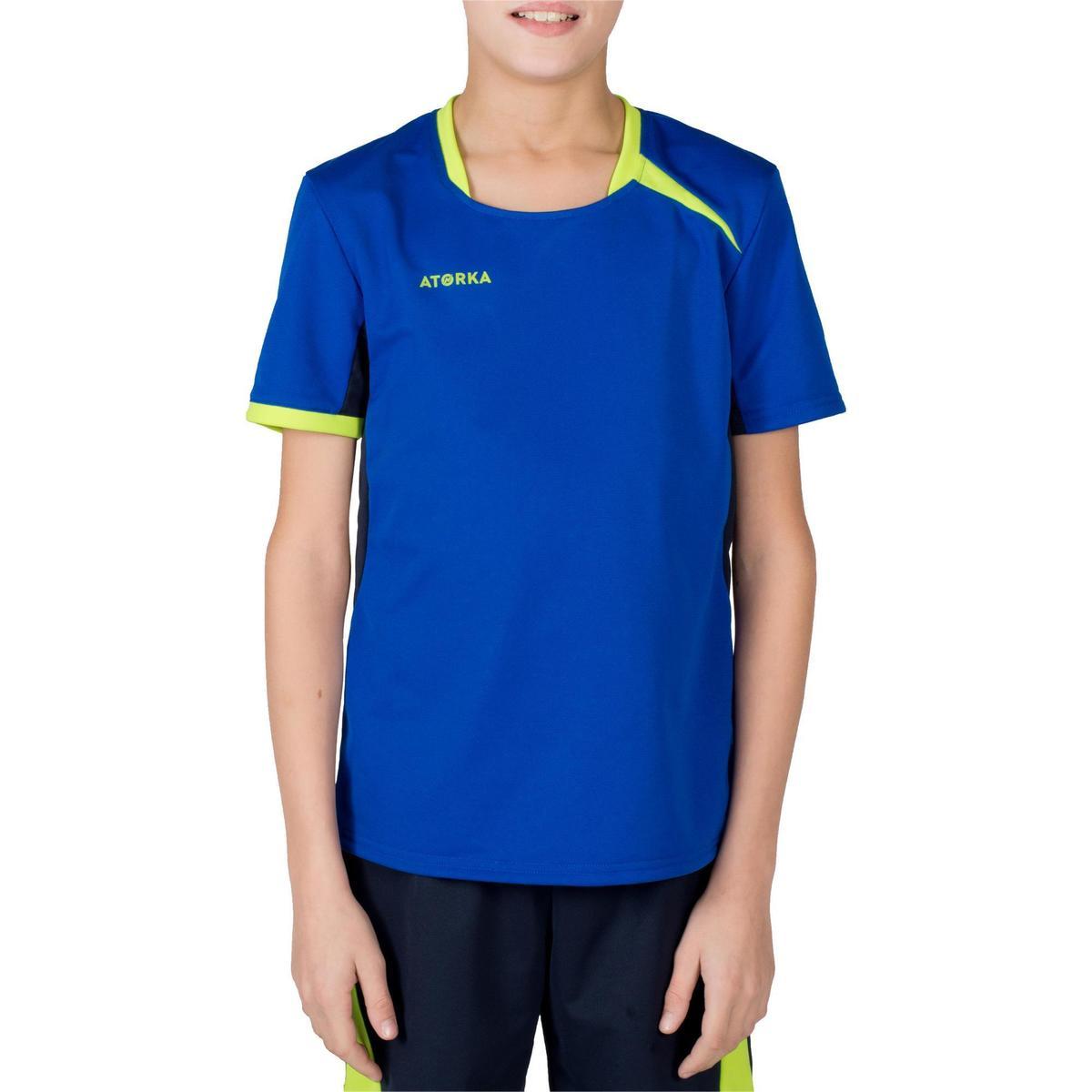 Bild 3 von Handballtrikot H100 Kinder blau/gelb