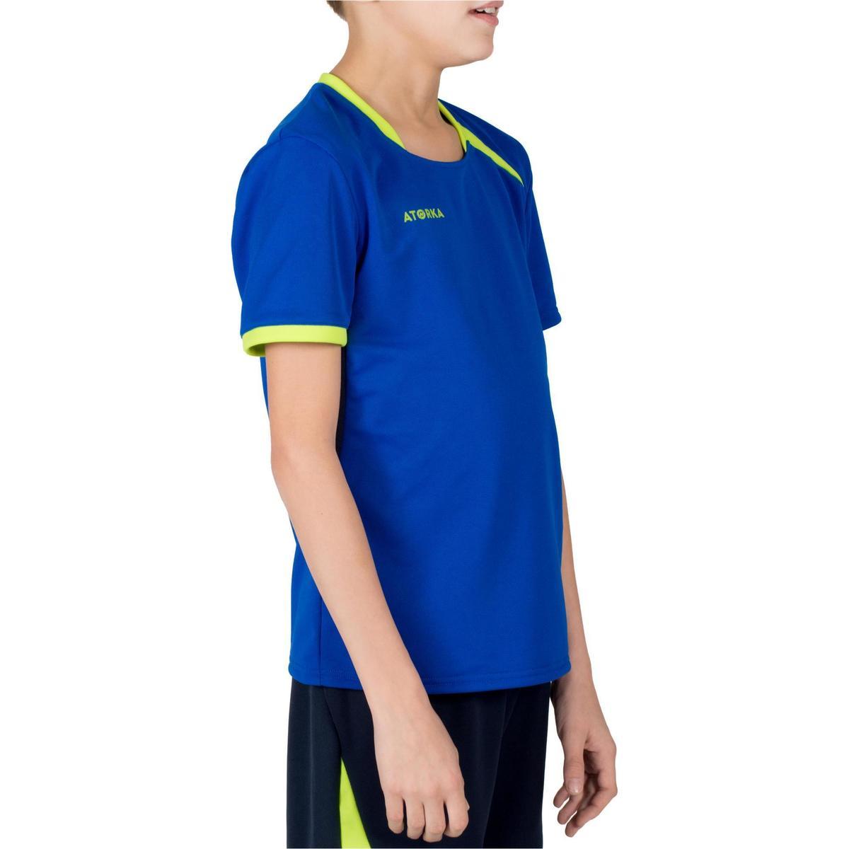 Bild 4 von Handballtrikot H100 Kinder blau/gelb