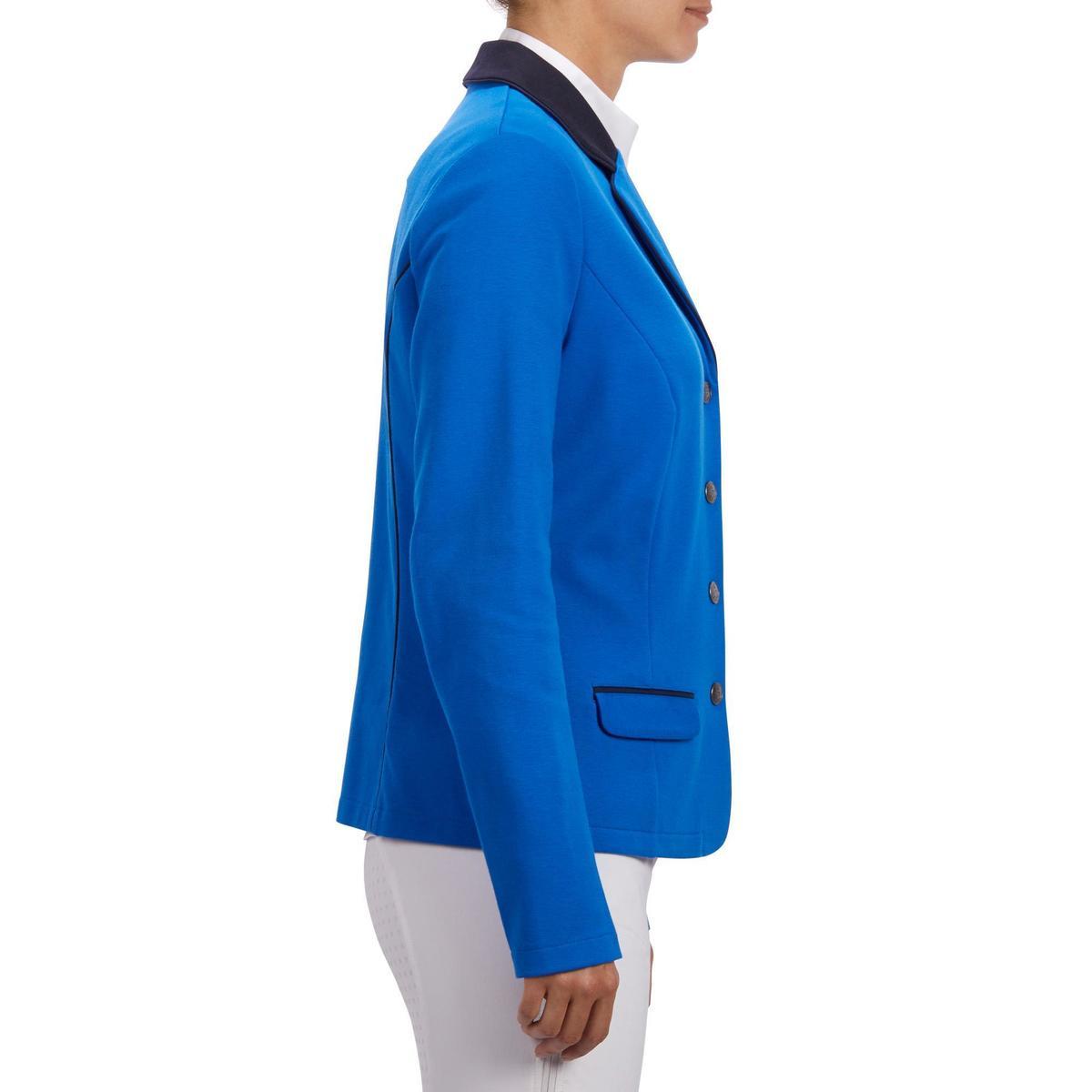 Bild 4 von Turnierjacket COMP100 Damen königsblau