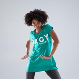 Tunika lang Dance Damen grün