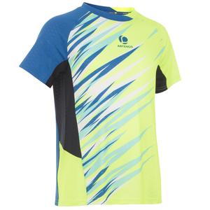 T-Shirt 860 Dry Badminton Kinder gelb