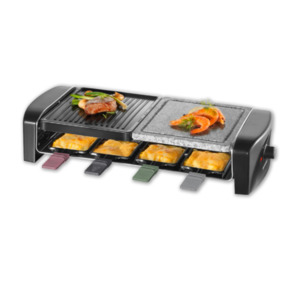 SEVERIN Raclette-Grill mit Naturgrillstein RG9645