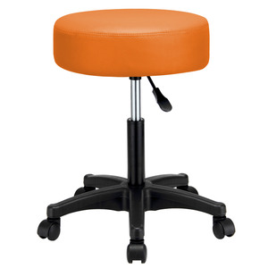 Deuba Rollhocker orange
