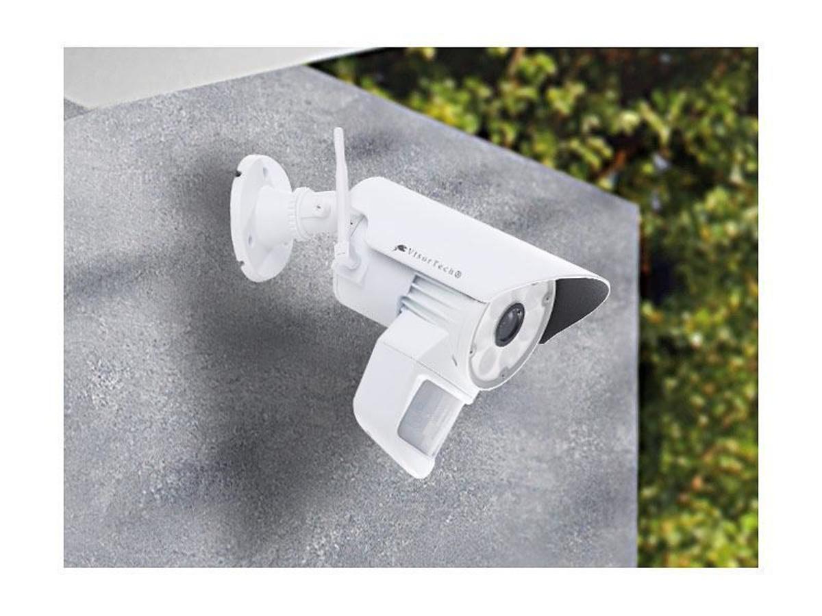 Bild 2 von VisorTech Überwachungskamera mit LED-Licht und PIR-Sensor