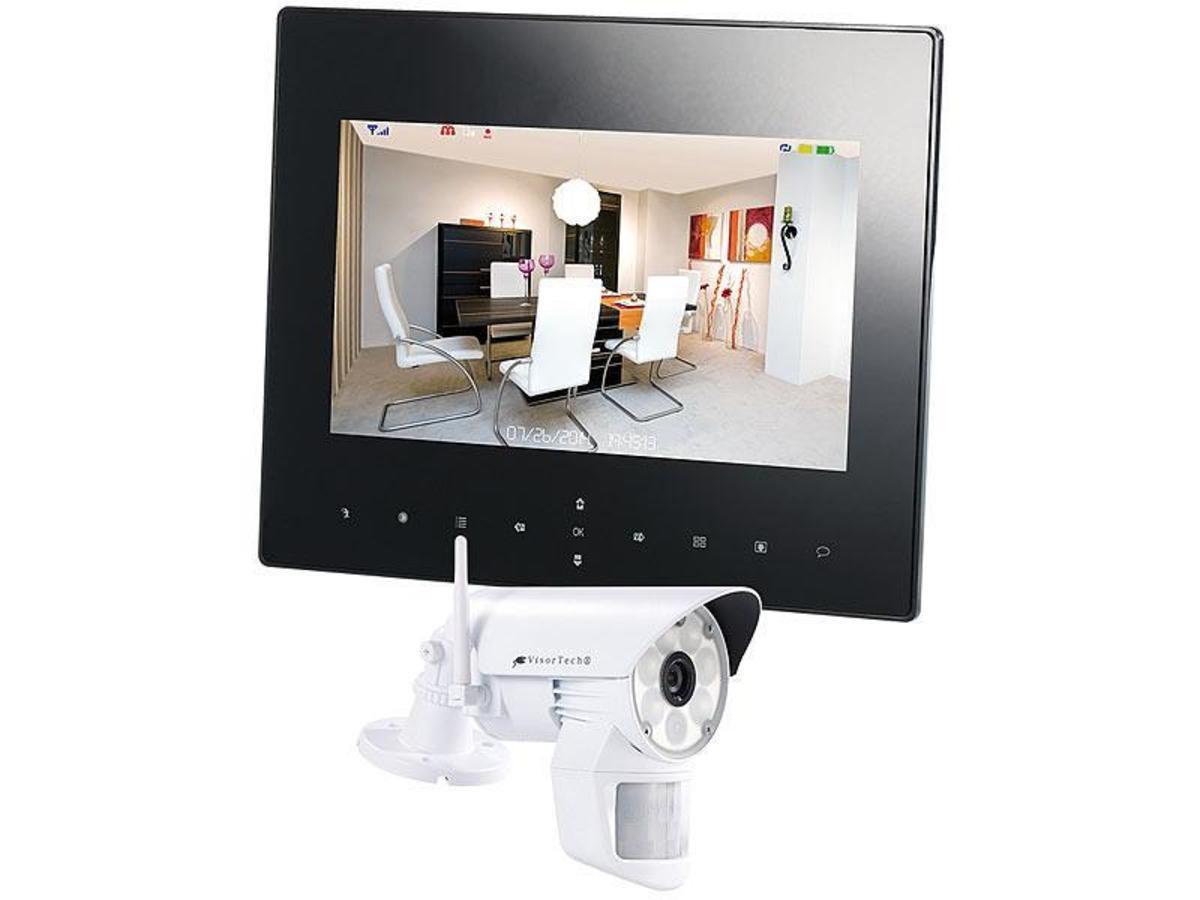 Bild 1 von VisorTech Überwachungsset Monitor + 1x Kamera