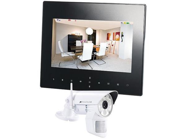 VisorTech Überwachungsset Monitor + 1x Kamera