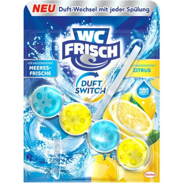 WC FRISCH Duft Switch Meeresfrische & Zitrus 3.98 EUR/100 g
