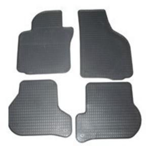 Schönek Passform Gummimatten Komplettset, Auto Fußmatten VW Polo, Seat Ibiza, 4-teilig