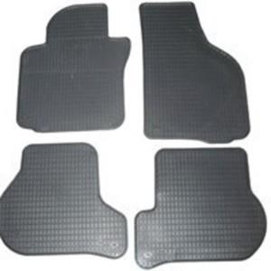 Schönek Passform Gummimatten Komplettset, Auto Fußmatten 5er BMW (F10/5L und F11/5K), 4-teilig