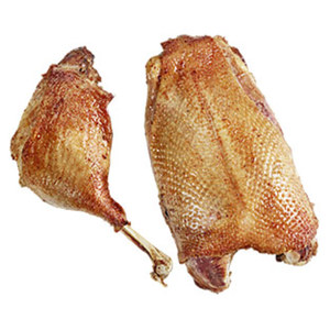 Frische Gänsebrust oder Gänsekeulen HKl. A, je 100 g