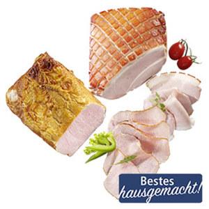Ofenfrischer Kasselerbraten oder Krustenbraten ständig frisch geschnitten, je 100 g
