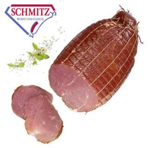 GS Schmitz Nussschinken zart im Biss, leicht geräuchert, in Ruhe gereift, besonders mager, je 100 g