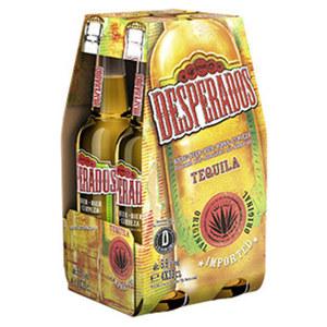 Desperados Tequila oder Red jede 4 x 0,33-Liter-Packung