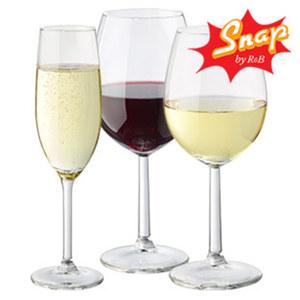 Sektkelch, Rotwein- oder Weissweinglas - 6er-Pack, je