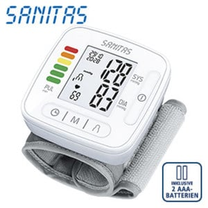 Blutdruckmessgerät SBC 22 · vollautom. Blutdruck- und Pulsmessung am Handgelenk · Arrhythmie-Erkennung