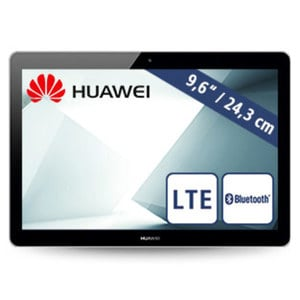 Tablet MediaPad T3 10 · HD-IPS-Display · Quad-Core-Prozessor (bis zu 1,4 GHz) · 2 Kameras (2 MP/5 MP) · microSD™-Slot bis zu 128 GB · Android™ 7.0