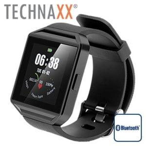 Smartwatch TG-SW2HR · Schrittzähler, Schlafüberwachung, Herzfrequenzmessung · Anruf- / SMS- / Kalenderanzeige · Musiksteuerung · Anrufe tätigen und entgegen nehmen