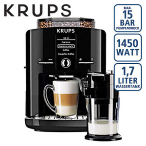 Kaffee-Vollautomat  One Touch Cappuccino  Latt´Espress EA8298 · automatisches Milchsystem-Reinigungsprogramm · abnehmbarer Milchbehälter · Claris-Aqua-Filter-System, 1x Gratis dazu! Starterset b