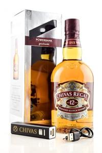 Chivas Regal 12 Jahre 40% Vol. 0,7 l + gratis Powerbank nur solange der Vorrat reicht