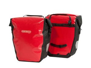 Ortlieb Back-Roller City Hecktaschen | 40 Liter | rot schwarz