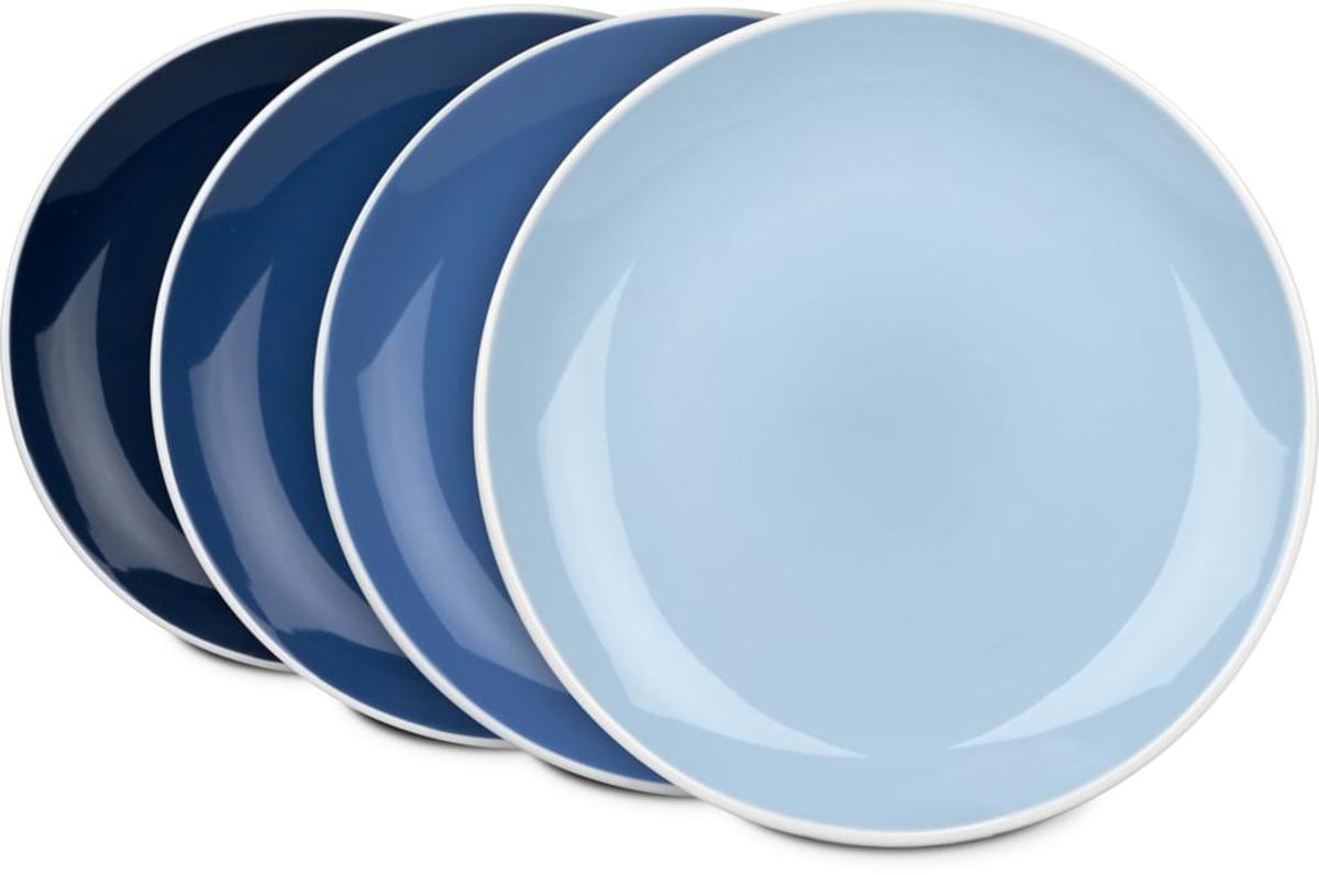 Bild 4 von Waechtersbach Elements Ocean Kaffeeservice aus Porzellan 12er-Set, Farben Hellblau, Blau, Dunkelblau