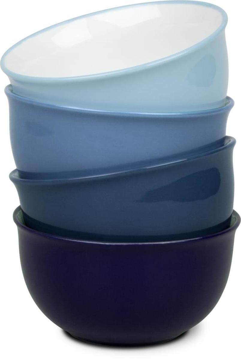 Bild 5 von Waechtersbach Elements Ocean Kaffeeservice aus Porzellan 12er-Set, Farben Hellblau, Blau, Dunkelblau