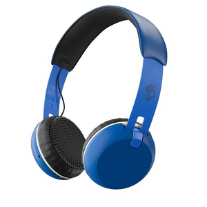 Skullcandy Headset GRIND ON-EAR Wireless W/TAP TECH ROYAL/CREAM; S5GBW-J546