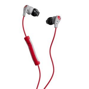 Skullcandy Method In-Ear W/Mic 1 Gray/Red/Swirl ; S2CDY-K605