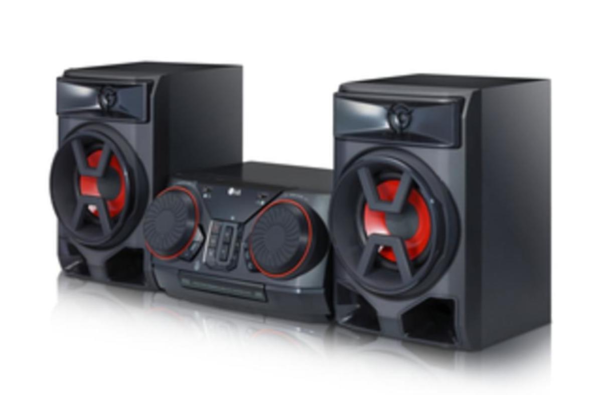 Bild 2 von LG CK43, Schwarz - HiFi Anlage (300W, CD/Radio/USB, Auto DJ, Bluetooth, LG TV)