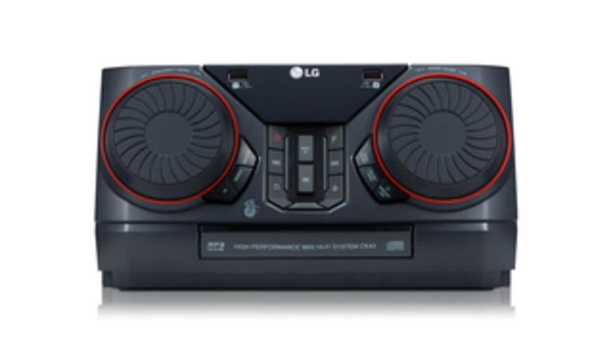Bild 4 von LG CK43, Schwarz - HiFi Anlage (300W, CD/Radio/USB, Auto DJ, Bluetooth, LG TV)