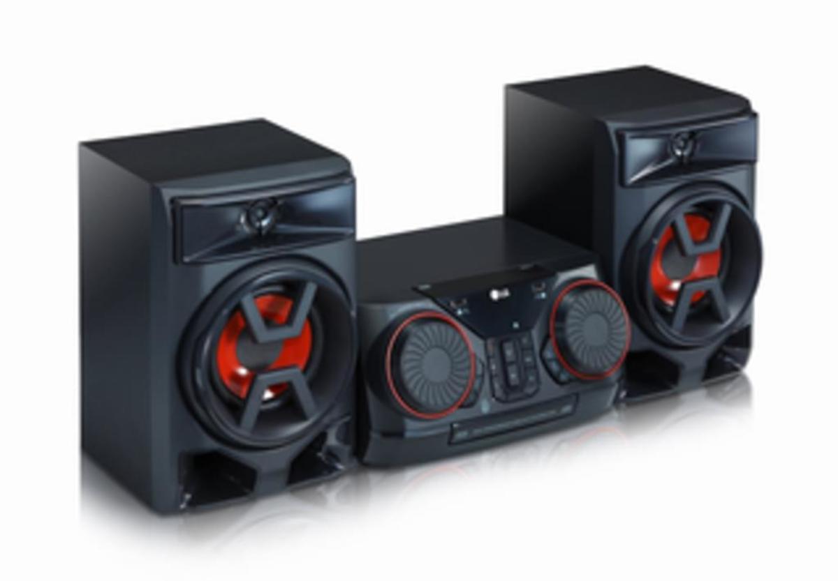 Bild 5 von LG CK43, Schwarz - HiFi Anlage (300W, CD/Radio/USB, Auto DJ, Bluetooth, LG TV)