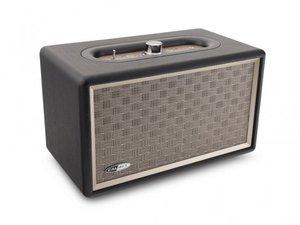 Caliber HFG311BT tragbarer Bluetooth Retro Lautsprecher mit AUX Eingang und eingebauter Batterie, LED Anzeige, 60 Watt