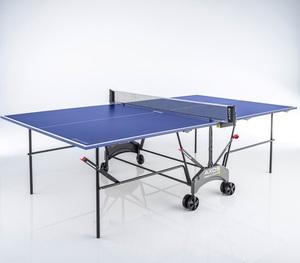 Kettler Tischtennisplatte Axos Outdoor 1, wetterfest, H 76 x B 152,5 x T 274 cm, Farbe Blau
