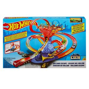 Mattel Hot Wheels Trackset Vulkanflucht