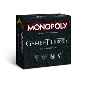 Monopoly Game of Thrones Deluxe Edition