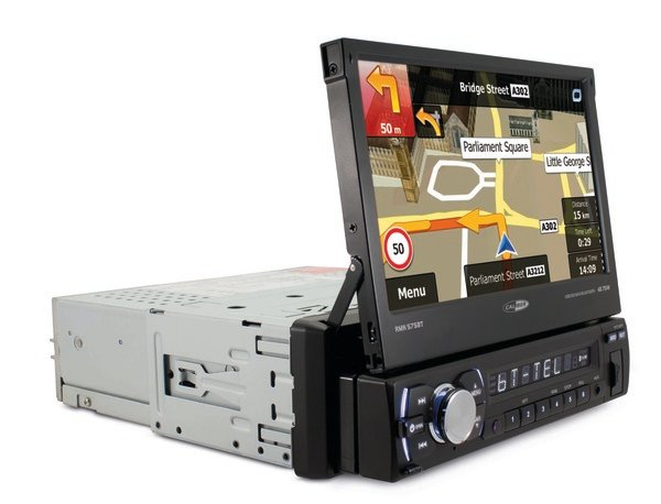 Caliber Autoradio Usb/sd/bt/navi/17,7Cm Touch 1 Din Rmn575Bt