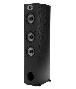 Polk Audio TSx 440T, 1.0 Kanäle, Verkabelt, Terminal, 33 - 25000 Hz, 8 Ohm, Schwarz