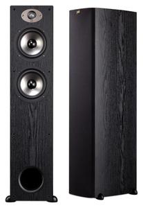 Polk Audio TSx 330T Standlautsprecher Schwarz (Stück) 150 Watt