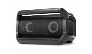 LG PK5 Lautsprecher verkabelt & kabellos, Schwarz, Digital, IPX5, wasserfest, universal