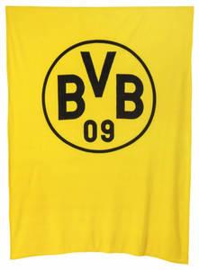 BVB Fleecedecke 150x200