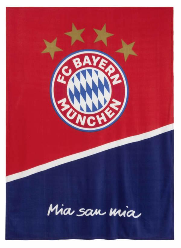 FC Bayern München Fleecedecke 150 x 200 cm
