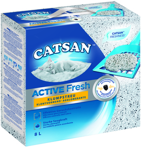 Catsan Active Fresh 8l