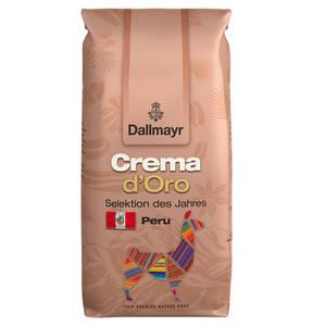 Dallmayr Kaffee Crema d'Oro Selektion des Jahres aus Peru | ganze Bohne | 1000g