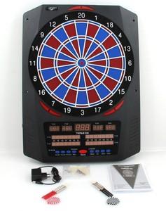 Carromco Topaz - 901, Elektronisches Dartboard - der Spielvariantengigant