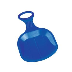 "Tellerschlitten ""Bingo"", blau"