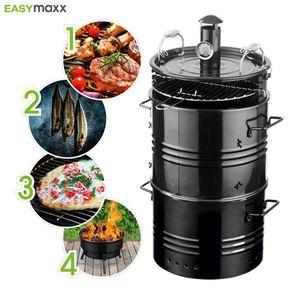EASYmaxx BBQ-Grilltonne 4in1