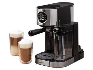SILVERCREST® Espressomaschine mit Milchaufschäumer SEMM 1470 A1