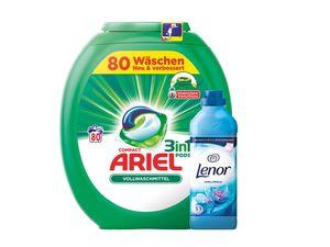 Ariel 3in1 Pods 80 Wäschen