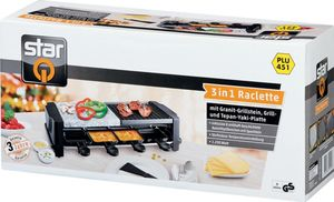 StarQ Raclette-Grill 3in1