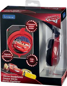 Disney Kinderkopfhörer - Cars, Rot/Schwarz